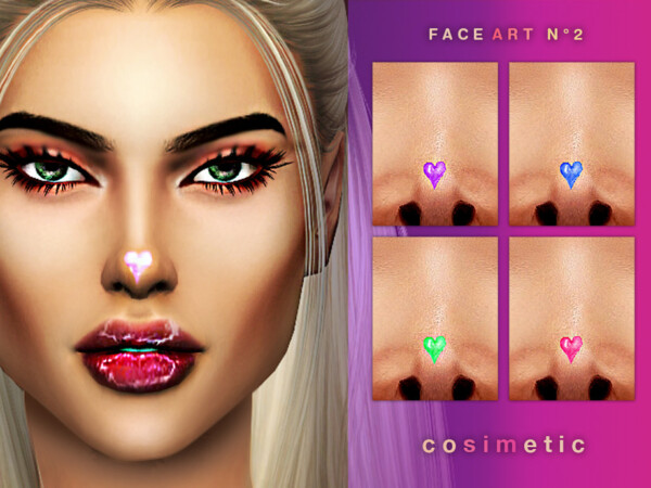 Face Art Tattoo N2 by cosimetic from TSR