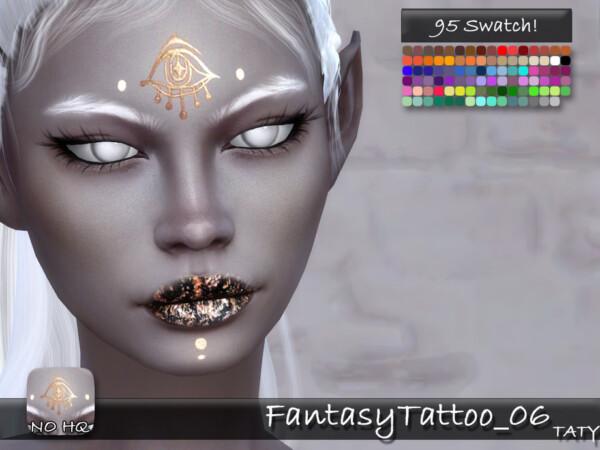 Fantasy Tattoo 06 by tatygagg from TSR