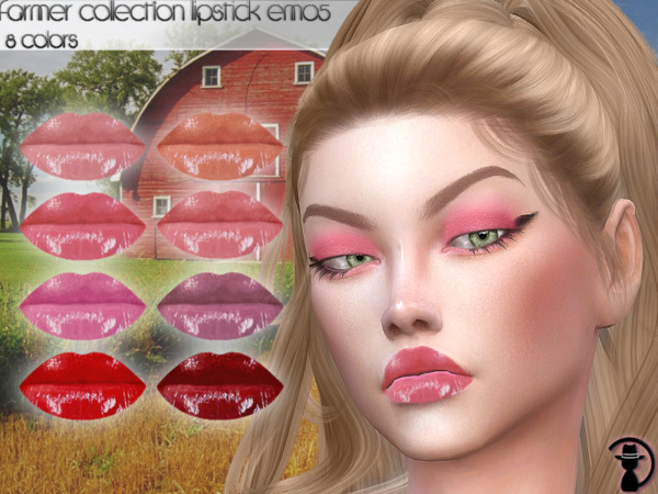 Farmer Collection Lipstick EM05 by turksimmer from TSR