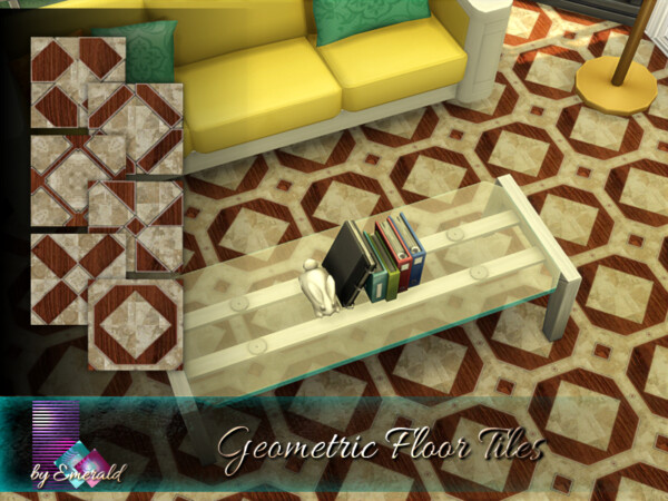 Geometric Floor Tiles by emerald from TSR
