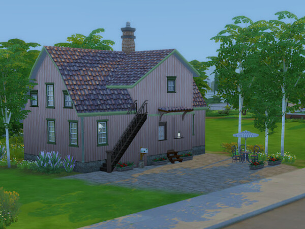 Gunhilds house from KyriaTs Sims 4 World