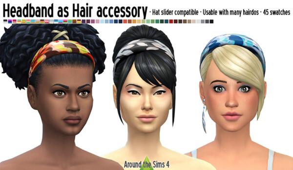 Headband from Around The Sims 4