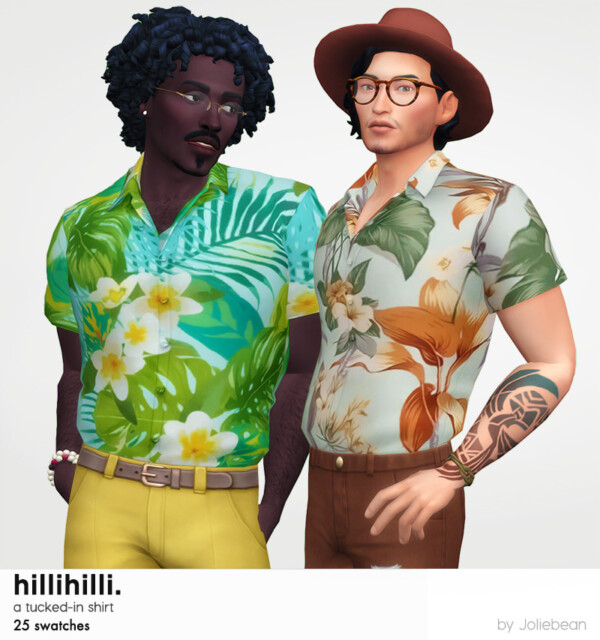 HilliHilli tucked in shirt from Joliebean