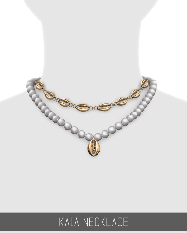 Kaia Necklace from Simpliciaty