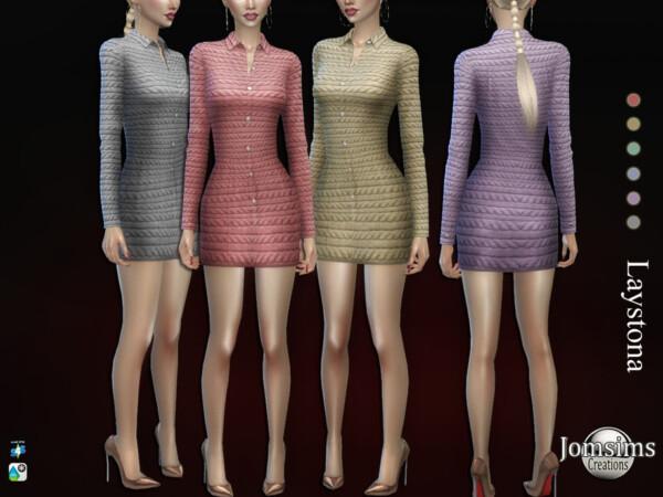 Laystona dress by jomsims from TSR