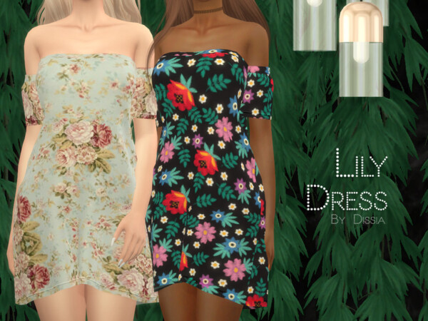 Lily Dress by Dissia from TSR
