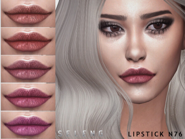 Lipstick N76 by Seleng from TSR