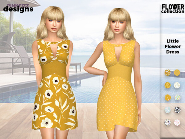 Little Yellow Dress by Pinkfizzzzz from TSR