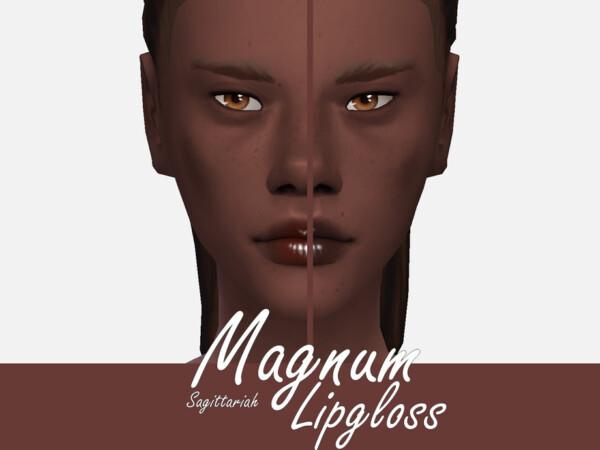 Magnum Lipgloss by Sagittariah from TSR
