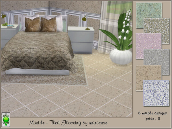Marble Tiled Flooring by marcorse from TSR