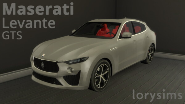 Maserati Levante GTS from Lory Sims