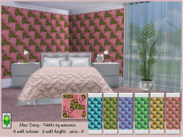 Maxi Daisy Walls by marcorse from TSR