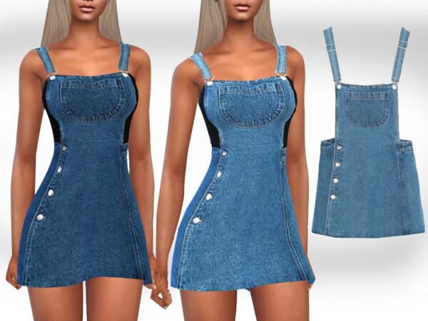 Mini Denim Dress by Saliwa from TSR