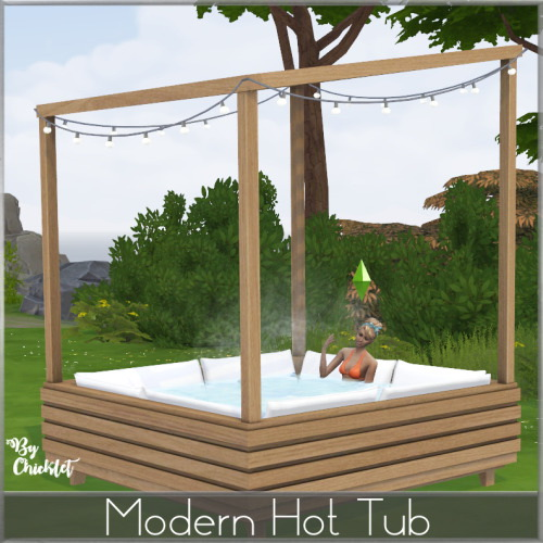 Modern Hot Tub from Simthing New
