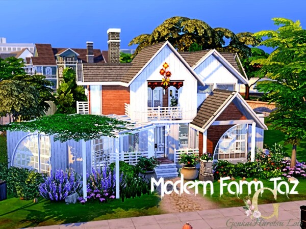 Modern Taz Farm Home by GenkaiHaretsu from TSR