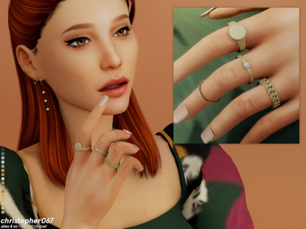 Monet Rings by Christopher067 from TSR