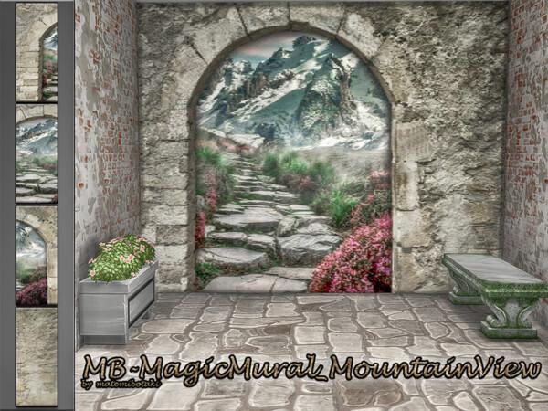 Mountain View Walls by matomibotaki from TSR