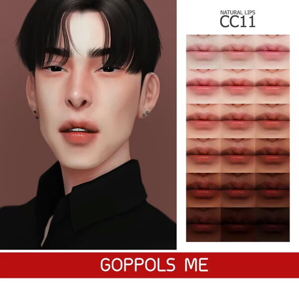 Natural Lips CC11 from GOPPOLS Me