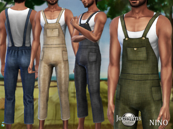Nino farmer overalls by jomsims from TSR