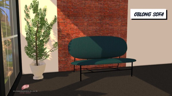 Oblong Sofa from Sunkissedlilacs