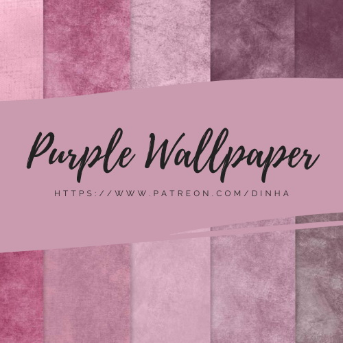 Purple Collection Walls and Paintings from Dinha Gamer