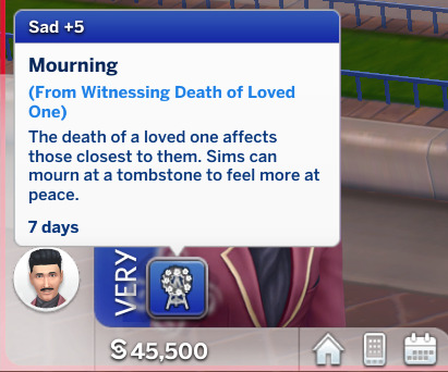 Realistic Death Reactions by plzsaysike from Mod The Sims