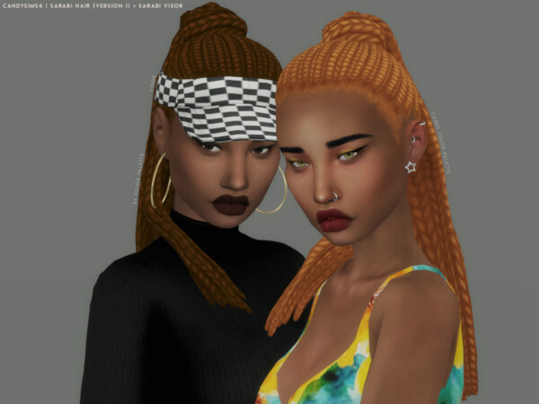 Sarabi Hairstyle and Vision from Candy Sims 4
