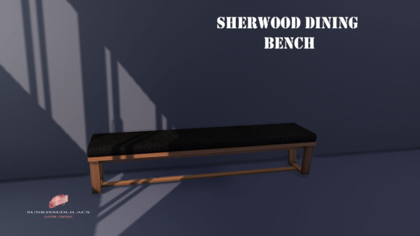 Sherwood Dining Bench from Sunkissedlilacs