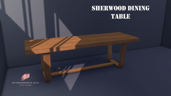 Sherwood Dining Table from Sunkissedlilacs