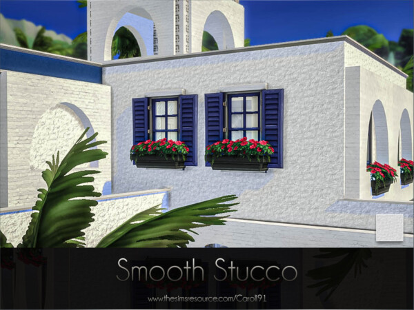 Smooth Stucco Walls by Caroll91 from TSR
