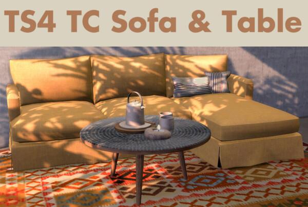 Mysticrain's sofa and Severinka's coffeetable recolors from Riekus13
