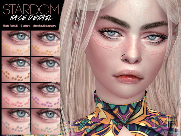 Stardom Face Detail by IzzieMcFire from TSR