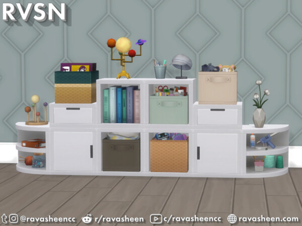 Storage Squared Cubby Inserts by RAVASHEEN from TSR