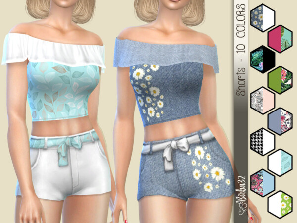 Summer twinset shorts by Birba32 from TSR
