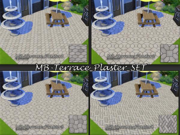 Terrace Plaster Set by matomibotaki from TSR