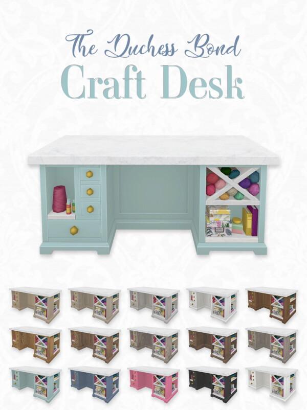 The Duchess Bond Craft Desk from Simplistic
