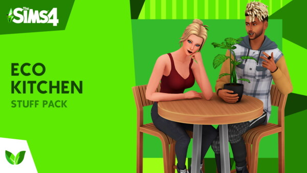 The Sims 4 Eco Kitchen Stuff by littledica from Mod The Sims
