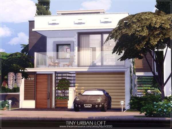 Tiny Urban Loft by MychQQQ from TSR