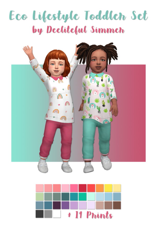 Toddlers Outfit Set from Deelitefulsimmer