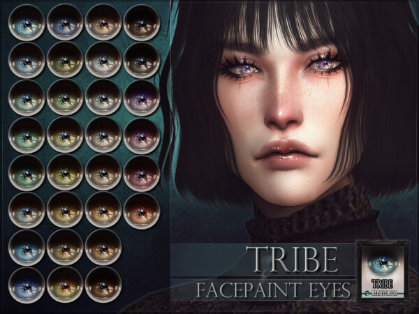 Tribe Eyes by RemusSirion from TSR