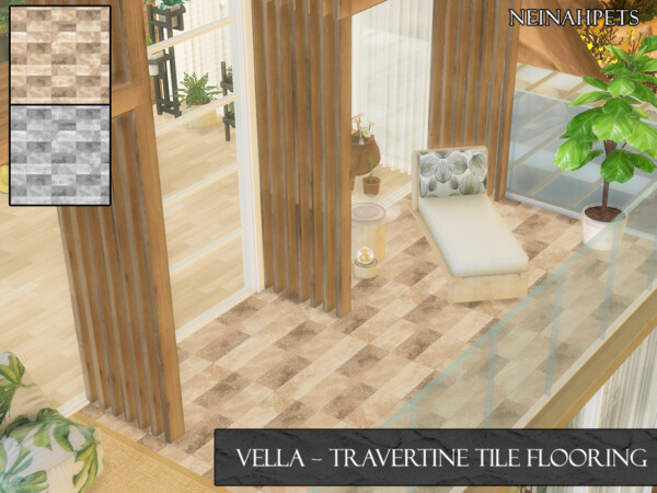 Vella Travertine Tiles by neinahpets from TSR