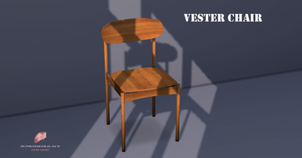 Vester Chair from Sunkissedlilacs