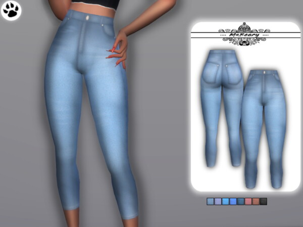 Washed Gradient Jeans byMsBeary from TSR