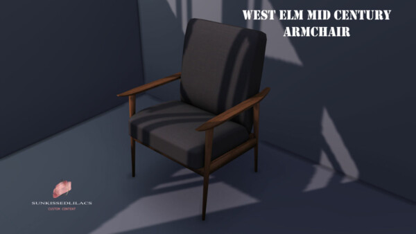 West Elm Mid Century Arm Chair from Sunkissedlilacs
