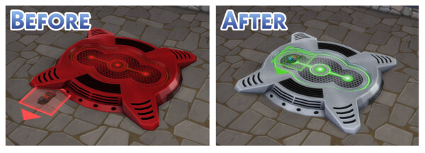 Cloneable Robot Salvage Parts by Menaceman44 from Mod The Sims