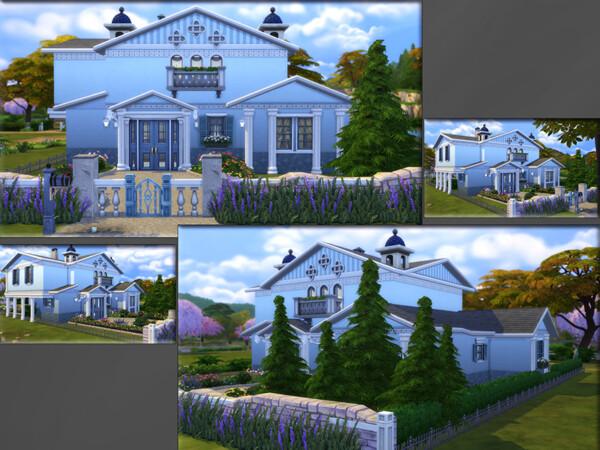 Blue River Lane House by matomibotaki from TSR