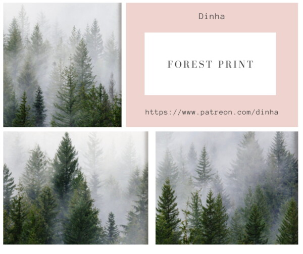 Forest Prints 3 Collections   9 Swatches from Dinha Gamer