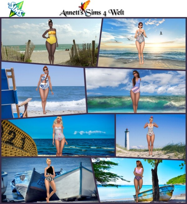 CAS Backgrounds At the Beach from Annett`s Sims 4 Welt