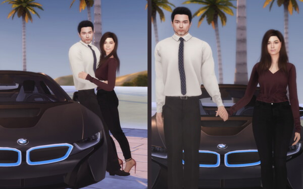 Couple Car Poses from Lutessa