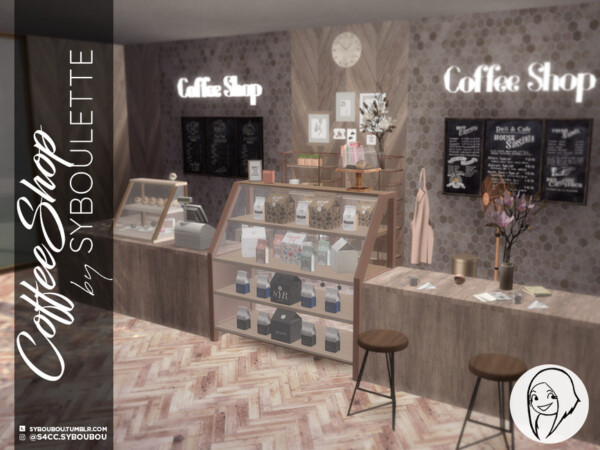 Coffee Shop Set by Syboubou from TSR